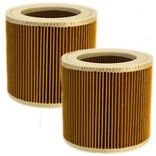 4x Patronen-Filter für Kärcher A 2604 *CH 1.723-701.0