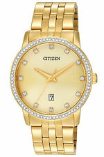 Citizen BI5032-56P Mens Gold Crystal Watch RRP $349.00