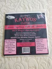 Zezo- Fiber Kaywos Cloth Miracle Cleaning Cloth New in Package