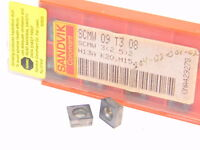 NEW SURPLUS 10PCS. SANDVIK  SCMW  3(2.5)2  GRADE: H13A  CARBIDE INSERTS