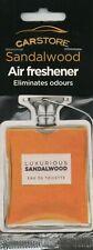 Carstore-Ambientador Coche-sandlewood-Aftershave * Nuevo y Sellado *.
