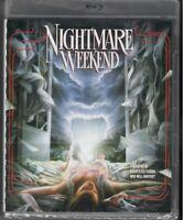 Nightmare Weekend (Blu-ray) Vinegar Syndrome 1985 OOP RARE Horror