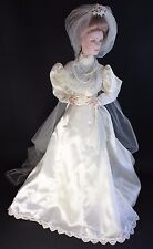 "Franklin Mint Heirloom - Gibson Girls, Bride - 23"" Porcelain Doll"