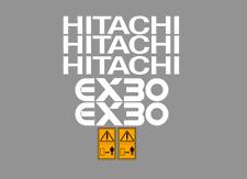 Sticker, aufkleber, decal - HITACHI EX30 EX22 EX15 EX20 EX8
