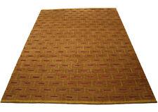 tapis de qualité Original Nepal très bien ~ 170x240 cm ~ 100% Laine marron rouge