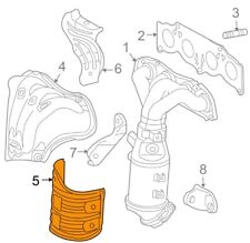 For Toyota Genuine Exhaust Manifold Heat Shield Lower 2558628090