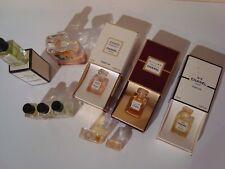 Miniatures Parfum Chanel, récentes et anciennes - Lot de 10