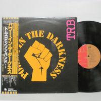TOM ROBINSON BAND - Power In The Darkness LP 1978 JAPAN TRB PUNK w/obi, stencil