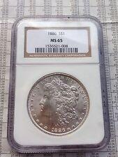 1886 Morgan Dollar - MS-65 NGC