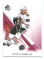 17/18 SP Authentic Patrick Kane Limited Red Parallel #75 BLACKHAWKS