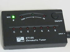 Shar St100 Chromatic Tuner with Contact Mic