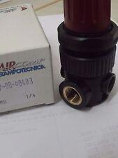 Air Regulator Compact Mini Precision Regulator 1/4 Bsp C/W Gauge