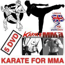 KARATE FOR MMA [ 4 DVD + 1 ] Self Defence - Karate KUMITE (NOVITÀ 2015)