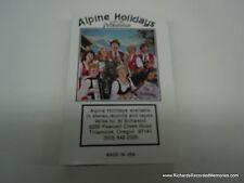 Alpine Holidays With The Polkatones POLKA Cassette Tape Polkas Tillamook Oregon