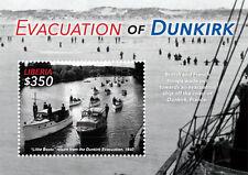 Liberia - Evacuation of Dunkirk, Souvenir sheet 2015 MNH