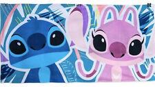 NEW Disney Store Lilo and Stitch & Angel Soft Terry Cloth Swim Beach Towel