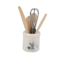 1/12 Kitchenware Cookware Eggbeater Pottery Holder Dolls House Kitchen Accs