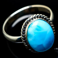 Larimar 925 Sterling Silver Ring Size 12.25 Ana Co Jewelry R22840F