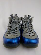 Nike Air Foamposite 1 One Sport Game Royal Blue Wolf Grey Size 9 314996-401