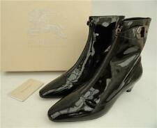 BURBERRY Black Leather Shoes Boots  UK5 EU38 US8 New