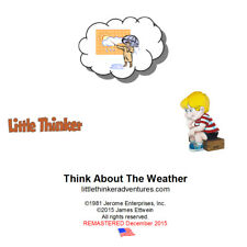 Little Thinker - Think About The Weather - New Cd remastered from cassette