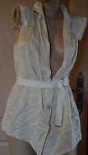 magnifique veste sans manche femme beige HIGH USE taille 40 neuf avec étiquettes