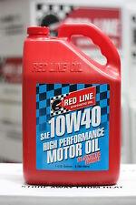 Redline Engine Motor Oil 10W40 1 Gallon/3.785 Litre