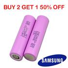 1 GENUINE Samsung 18650 Lithium Batteries 30Q 3000mAh 15A Li-ion Battery Vape UK
