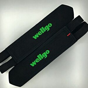 Wellgo Pedals Straps for Platform Pedals —AUS STOCK— Black Bicycle Bike Fixie