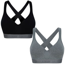 Tokyo Laundry Women's Sports Bra Wireless Yoga Gym Fitness Running Stretch Soft