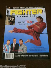 FIGHTER INTERNATIONAL - TROY DORSEY - JULY 1990