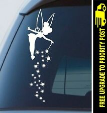 Tinkerbell Fairy dust window Sticker stars car decal cute 300mm