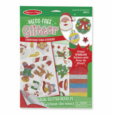 Melissa and Doug  MESS - FREE GLITTER - CHRISTMAS STICKERS