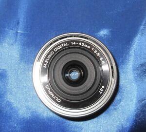 Olympus M.zuiko 14-42mm F3.5-5.6 Digital Ed EZ Lens Silver