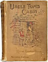 1897 UNCLE TOM'S CABIN Slavery 1ST ED Civil War US History HARRIET BEECHER STOWE