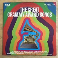 Ray Martin The Great Grammy Award Songs 1968 Vinyl LP RCA Records CCS 0141