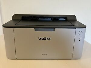 Brother Hl-1110 Mono A4 Laser Printer with toner.