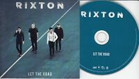RIXTON Let The Road 2015 UK 10-track promo CD