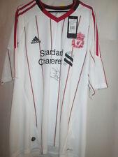 Pepe Reina Signed Liverpool 2010-2011 Away Football Shirt COA /15660