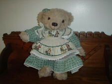 Vintage Holly Hobbie Teddy Bear 16 inch Disc Jointed Rare