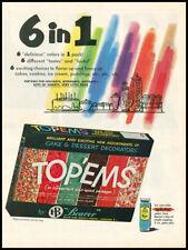 1959 vintage ad for Top'ems Cake Decoration