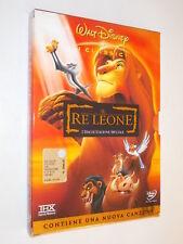 Film dvd IL RE LEONE 2 dischi ed. speciale OLOGRAMMA TONDO RARO DISNEY