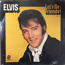 "Elvis Presley - ""Let's Be Friends"" SEALED LP"