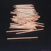 50-400mm Length 6mm Diameter Copper Heatsink Heatpipe Notebook DIY Cooling Rod