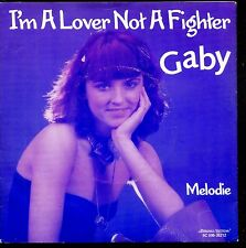 7inch GABY i'm a lover not a fighter HOLLAND 1979 EX