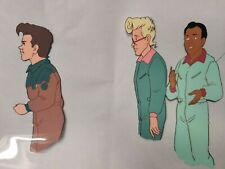PETER VENKMAN SLIMED Egon Winston The Real Ghostbusters Animation Production Cel