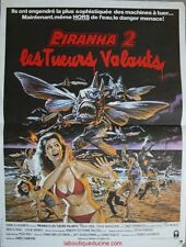 PIRANHA 2 Affiche Cinéma / Movie Poster 53x40 James Cameron