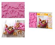 """Birkman: Keks Konfect: Cani : 2 teglie silicone per biscotti dal """"cuore morbido"""""""