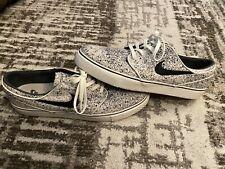 2014 Nike Stefan Janoski SB US size 10 375361-102 Ivory/Black Men's Skate Shoes