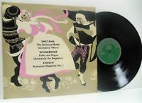 HERMANN SCHERCHEN smetana, weinberger, enesco LP EX/EX-, ST 333, vinyl, uk, 1964